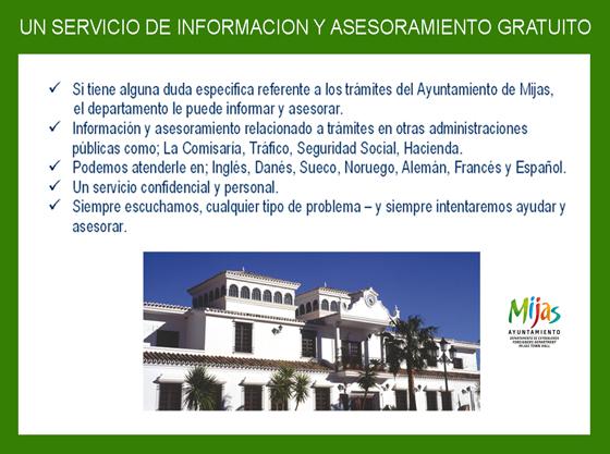 informacion servicios