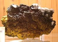 Cristales de Calcita sobre Limonita (Sierra de Mijas)